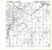 Long Lake T39N-R15E, Florence County 1964